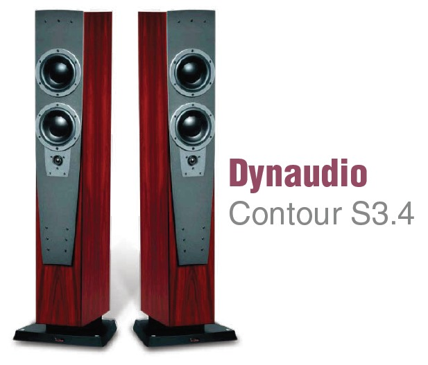 Loa cao cap Dynaudio Contour S 3.4 (Rosewood)