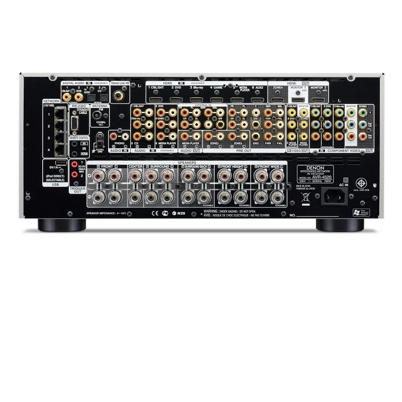 Amply Denon AVR-4520
