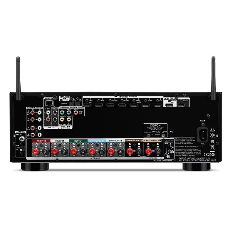 Amply Denon AVR-X2100W
