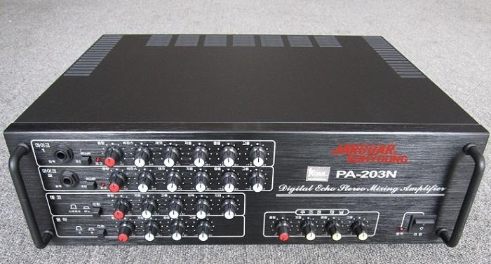mặt trước Amply Jarguar PA-203N