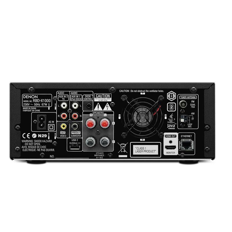 Dàn âm thanh Denon Blu-ray System D-X1000BD
