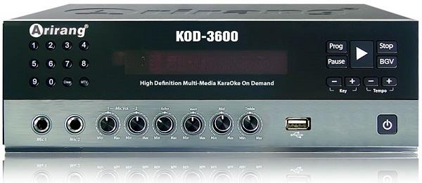 Đầu karaoke Arirang KOD 3600 2TB