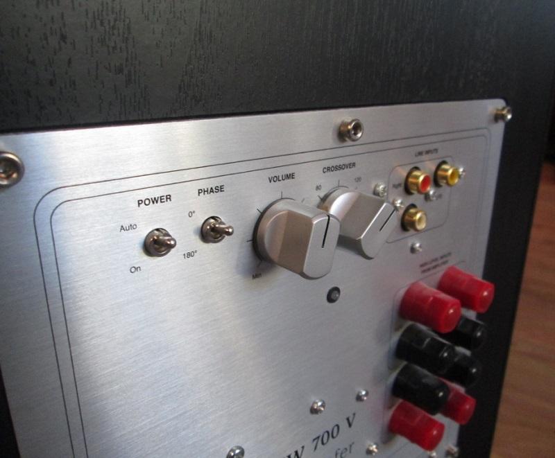 Loa Subwoofer JM Lab Focal Chorus SW 700 V (Black Ash)