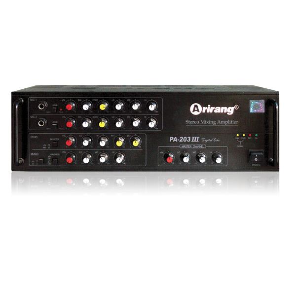 Mixer Karaoke Arirang PA-203III