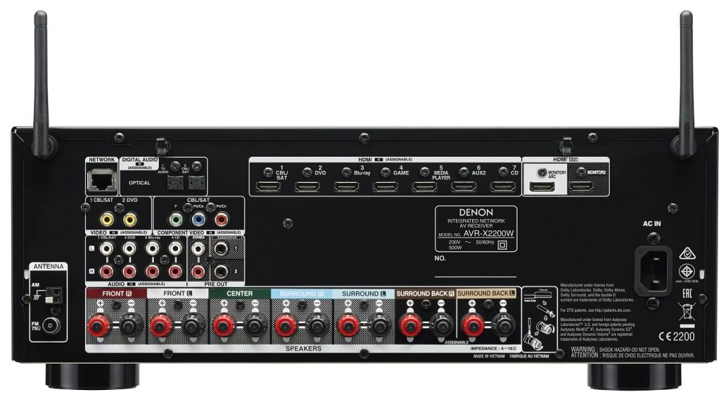 Denon AVR-X2200W(1)