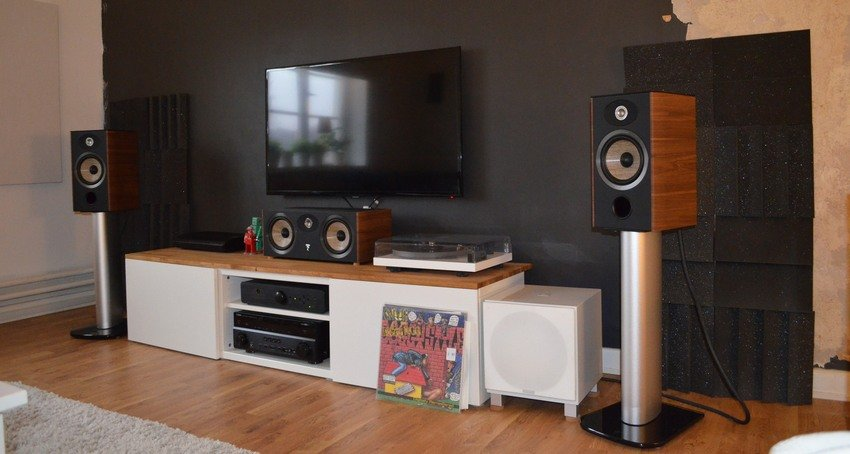 Focal Aria CC 900 (Walnut)(2)