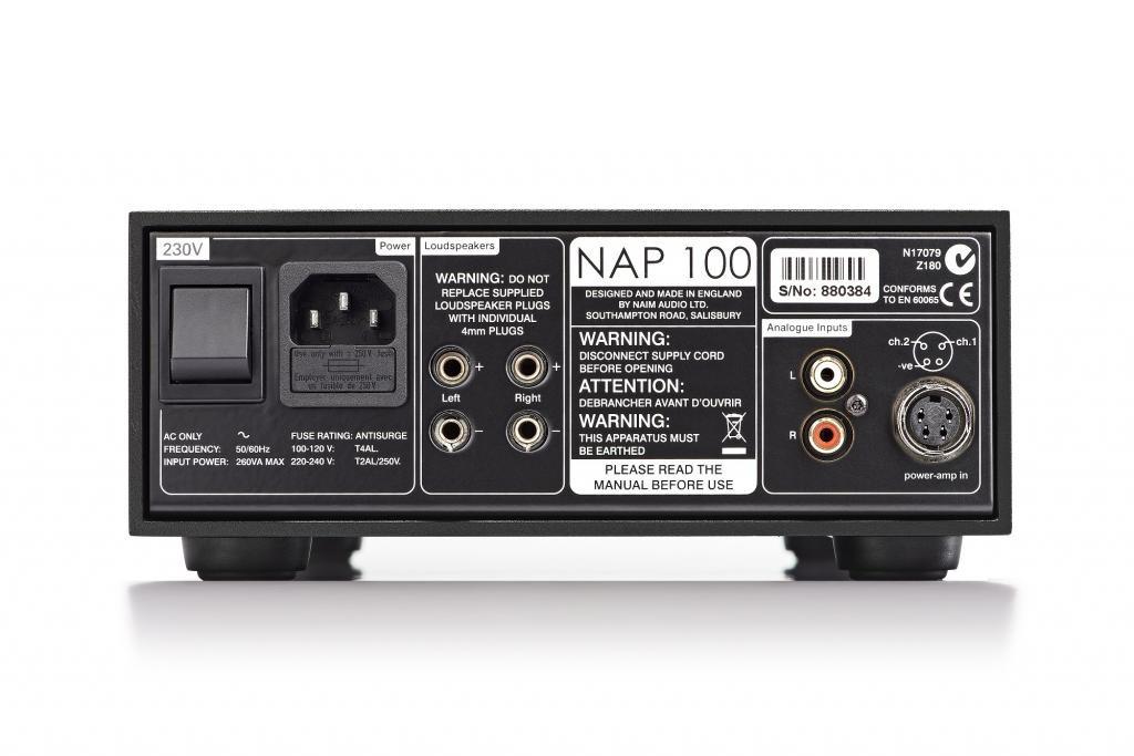 Power Amplifier Naim NAP 100(1)